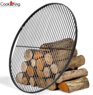 CookKing Schwarzstahl-Grillrost rund