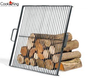 CookKing Schwarzstahl-Grillrost für Feuerschale
