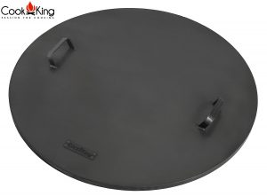 CookKing Deckel mit Kante für Feuerschalen Bali, Dubai, Polo, Porto, Viking, Indiana, Kongo, Fat Boy, Santos
