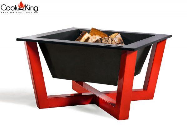 CookKing Feuerschale 'BRASIL' rot