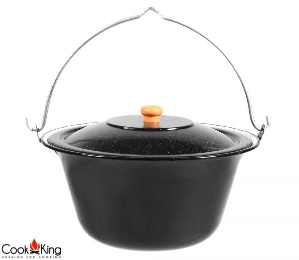 CookKing Emaillierter Gulaschtopf